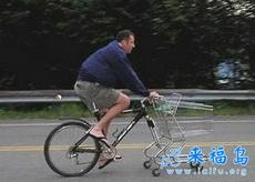 如此自行车真是家庭煮夫的福音啊
