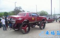 这车这么高让人怎么上去啊