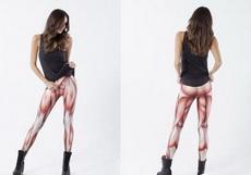 回头率超高的肌肉图案紧身裤