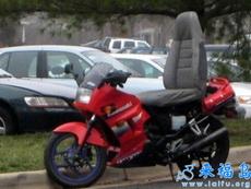 摩托车一定要讲究一个舒适度