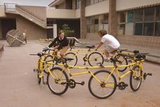 这种自行车锻炼身体又不占地方