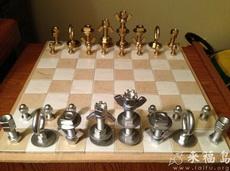 螺丝螺母版国际象棋