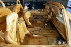 純木頭手工車