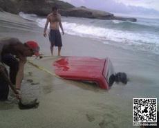 车子不能在沙滩过夜