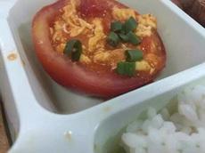 今天点了个番茄炒蛋,上菜之后我哭了