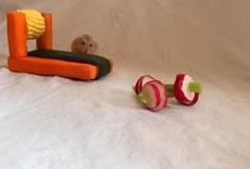 小仓鼠健身器材
