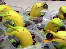 香蕉吃葡萄