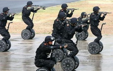 护卫队的实战演习