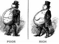 穷和富的区别!