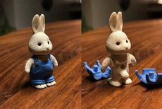 双兔傍地走,脱光衣服辨雌雄