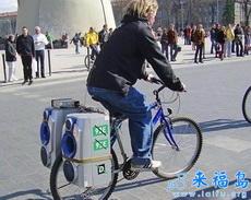自行车车载低音炮