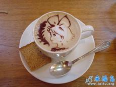 漂亮的咖啡,你舍得喝吗?