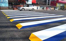 能够减少70码的错觉人行道
