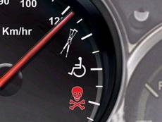 據說為了提醒廣大機動車駕駛者不要超速,時速表以后要改成這樣了